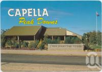 "<span class=""caption-caption"">Peak Downs Shire Administration Offices, Capella</span>, c1970-2000. <br />Postcard, collection of <span class=""caption-contributor"">Murray Views Collection</span>."