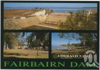 "<span class=""caption-caption"">Fairbairn Dam, Emerald</span>, c1970-2000. <br />Postcard, collection of <span class=""caption-contributor"">Murray Views Collection</span>."