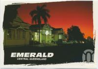 "<span class=""caption-caption"">Emerald's Historic Railway Station at night</span>, c1970-2000. <br />Postcard, collection of <span class=""caption-contributor"">Murray Views Collection</span>."