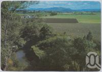 "<span class=""caption-caption"">Looking towards Gatton, featuring rich farmlands of the Lockyer Valley</span>, c1970-2000. <br />Postcard, collection of <span class=""caption-contributor"">Murray Views Collection</span>."