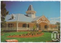 "<span class=""caption-caption"">The Plantation Restaurant serves fine food and wine, Dreamworld, Coomera</span>, c1970-2000. <br />Postcard, collection of <span class=""caption-contributor"">Murray Views Collection</span>."