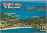 "<span class=""caption-caption"">Aerial view, Hamilton Island</span>, c1970-2000. <br />Postcard, collection of <span class=""caption-contributor"">Murray Views Collection</span>."