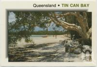 "<span class=""caption-caption"">Crab Creek, a popular swimming and picnic area, Tin Can Bay</span>, c1970-2000. <br />Postcard, collection of <span class=""caption-contributor"">Murray Views Collection</span>."