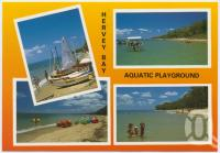 "<span class=""caption-caption"">Aquatic Playground, Hervey Bay</span>, c1970-2000. <br />Postcard, collection of <span class=""caption-contributor"">Murray Views Collection</span>."