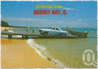 "<span class=""caption-caption"">Boating and swimming at Queensland's popular Hervey Bay</span>, c1970-2000. <br />Postcard, collection of <span class=""caption-contributor"">Murray Views Collection</span>."