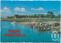 """<span class=""""caption-caption"""">The Boat Ramp at Urangan showing Hervey Bay Boat Club and Air-Sea Rescue Buildings</span>, c1970-2000. <br />Postcard, collection of <span class=""""caption-contributor"""">Murray Views Collection</span>."""