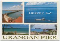 "<span class=""caption-caption"">Urangan Pier Past and Present, Hervey Bay</span>, c1970-2000. <br />Postcard, collection of <span class=""caption-contributor"">Murray Views Collection</span>."