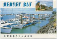"""<span class=""""caption-caption"""">Urangan Boat Harbour and Yacht Club</span>, c1970-2000. <br />Postcard, collection of <span class=""""caption-contributor"""">Murray Views Collection</span>."""