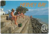 "<span class=""caption-caption"">Fishing is a most popular pastime at Hervey Bay</span>, c1970-2000. <br />Postcard, collection of <span class=""caption-contributor"">Murray Views Collection</span>."