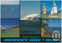 "<span class=""caption-caption"">Hervey Bay, Australia's Aquatic Playground</span>, c1970-2000. <br />Postcard, collection of <span class=""caption-contributor"">Murray Views Collection</span>."