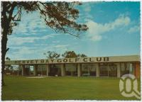 "<span class=""caption-caption"">Hervey Bay Golf Club House</span>, c1970-2000. <br />Postcard, collection of <span class=""caption-contributor"">Murray Views Collection</span>."