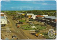 "<span class=""caption-caption"">Looking west along Lannercost Street, Ingham</span>, c1970-2000. <br />Postcard, collection of <span class=""caption-contributor"">Murray Views Collection</span>."