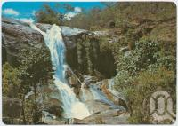 "<span class=""caption-caption"">Murray Falls, Cardwell</span>, c1970-2000. <br />Postcard, collection of <span class=""caption-contributor"">Murray Views Collection</span>."