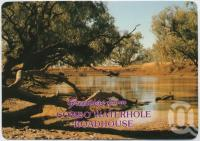 "<span class=""caption-caption"">Combo Waterhole, Kynuna</span>, c1970-2000. <br />Postcard, collection of <span class=""caption-contributor"">Murray Views Collection</span>."