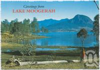 "<span class=""caption-caption"">Looking towards Mt Greville from the Inlet, Lake Moogerah</span>, c1970-2000. <br />Postcard, collection of <span class=""caption-contributor"">Murray Views Collection</span>."