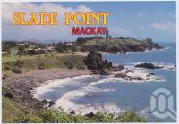 "<span class=""caption-caption"">Looking north from the lookout, Slade Point is one of Mackay's favourite northern beach resorts</span>, c1970-2000. <br />Postcard, collection of <span class=""caption-contributor"">Murray Views Collection</span>."