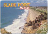 "<span class=""caption-caption"">Looking south from the lookout towards Mackay Harbour, Slade Point</span>, c1970-2000. <br />Postcard, collection of <span class=""caption-contributor"">Murray Views Collection</span>."