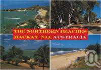"<span class=""caption-caption"">The Northern Beaches, Mackay, the Northern Beaches are a few minutes drive from Mackay, and feature beautiful beach resorts and camping facilities at Eimeo, Bucasia - Blacks Beach and Dolphin Heads</span>, c1970-2000. <br />Postcard, collection of <span class=""caption-contributor"">Murray Views Collection</span>."