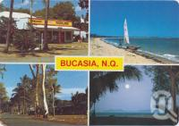 "<span class=""caption-caption"">Buscasia Store, Beach, Esplanade, Evening approaches</span>, c1970-2000. <br />Postcard, collection of <span class=""caption-contributor"">Murray Views Collection</span>."
