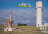"<span class=""caption-caption"">Memorial Park and Water Tower, Mitchell</span>, c1970-2000. <br />Postcard, collection of <span class=""caption-contributor"">Murray Views Collection</span>."