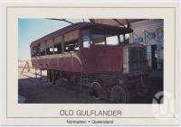 "<span class=""caption-caption"">RM 60 built in 1931.  Ran from 1958 - 1964 between Normanton and Croydon in Queensland's Gulf Country, Normanton</span>, c1970-2000. <br />Postcard, collection of <span class=""caption-contributor"">Murray Views Collection</span>."