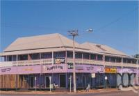"<span class=""caption-caption"">National Hotel, otherwise known as the Purple Pub, Normanton</span>, c1970-2000. <br />Postcard, collection of <span class=""caption-contributor"">Murray Views Collection</span>."