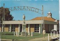 "<span class=""caption-caption"">Nanango Shire Council Chambers</span>, c1970-2000. <br />Postcard, collection of <span class=""caption-contributor"">Murray Views Collection</span>."
