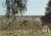 "<span class=""caption-caption"">Overlooking Nanango from Hospital Hill</span>, c1970-2000. <br />Postcard, collection of <span class=""caption-contributor"">Murray Views Collection</span>."