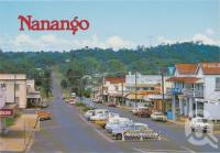 "<span class=""caption-caption"">Drayton Street, Nanango</span>, c1970-2000. <br />Postcard, collection of <span class=""caption-contributor"">Murray Views Collection</span>."