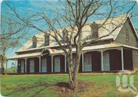 "<span class=""caption-caption"">The Royal Bull's Head Inn, Drayton, a Property of the National Trust of Queensland, built in 1859 by William Horton, the inn was once a lively meeting place for the squatters of the Darling Downs</span>, c1970-2000. <br />Postcard, collection of <span class=""caption-contributor"">Murray Views Collection</span>."