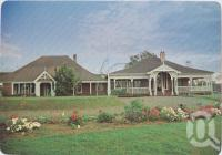 "<span class=""caption-caption"">Bellevue Homestead, Coominya, a property of the National Trust of Queensland</span>, c1970-2000. <br />Postcard, collection of <span class=""caption-contributor"">Murray Views Collection</span>."