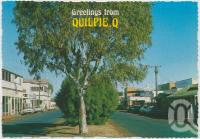"""<span class=""""caption-caption"""">Brolga Street, Quilpie</span>, c1970-2000. <br />Postcard, collection of <span class=""""caption-contributor"""">Murray Views Collection</span>."""