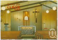 "<span class=""caption-caption"">St Finbarr's Roman Catholic Church, Quilpie</span>, c1970-2000. <br />Postcard, collection of <span class=""caption-contributor"">Murray Views Collection</span>."