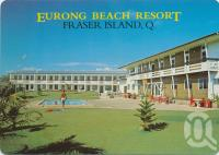 "<span class=""caption-caption"">Eurong Beach Resort, Fraser Island</span>, c1980. <br />Postcard by <span class=""caption-publisher"">Murray Views Pty Ltd</span>, collection of <span class=""caption-contributor"">Centre for the Government of Queensland</span>."