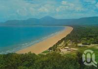 "<span class=""caption-caption"">Four Mile Beach, Port Douglas</span>, c1966. <br />Postcard by <span class=""caption-publisher"">Murray Views Pty Ltd</span>, collection of <span class=""caption-contributor"">Centre for the Government of Queensland</span>."