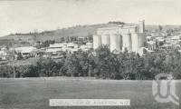 "<span class=""caption-caption"">General view of Atherton</span>, c1945. <br />Postcard folder by <span class=""caption-publisher"">Murray Views Pty Ltd</span>, collection of <span class=""caption-contributor"">Centre for the Government of Queensland</span>."