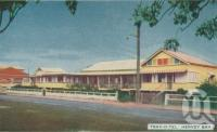 "<span class=""caption-caption"">Trav-o-tel, Hervey Bay</span>, 1963. <br />Postcard folder by <span class=""caption-publisher"">Viewpoint Productions</span>, collection of <span class=""caption-contributor"">Centre for the Government of Queensland</span>."