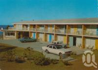"<span class=""caption-caption"">Waltzing Matilda Motel, Margate</span>, c1972. <br />Postcard by <span class=""caption-publisher"">Murray Views Pty Ltd</span>, collection of <span class=""caption-contributor"">Centre for the Government of Queensland</span>."