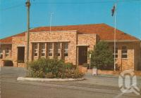 "<span class=""caption-caption"">Post office, Monto</span>, c1975. <br />Postcard by <span class=""caption-publisher"">Murray Views Pty Ltd</span>, collection of <span class=""caption-contributor"">Centre for the Government of Queensland</span>."