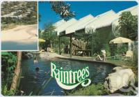 "<span class=""caption-caption"">Raintrees Apartments, Caloundra</span>, c1970-2000. <br />Postcard, collection of <span class=""caption-contributor"">Murray Views Collection</span>."