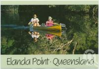 "<span class=""caption-caption"">Canoeing on the peaceful Noosa River, Elanda Point</span>, c1970-2000. <br />Postcard, collection of <span class=""caption-contributor"">Murray Views Collection</span>."