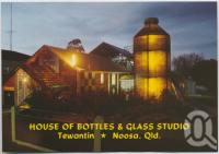 "<span class=""caption-caption"">The famous House of Bottles, Myles, as evening approaches, Tewantin</span>, c1970-2000. <br />Postcard, collection of <span class=""caption-contributor"">Murray Views Collection</span>."