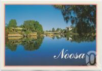 "<span class=""caption-caption"">The tranquil setting of Weyba Creek, Noosa</span>, c1970-2000. <br />Postcard, collection of <span class=""caption-contributor"">Murray Views Collection</span>."