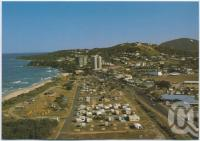 "<span class=""caption-caption"">Cool Seas Caravan Park, David Low Highway, Coolum</span>, c1970-2000. <br />Postcard, collection of <span class=""caption-contributor"">Murray Views Collection</span>."