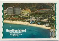 "<span class=""caption-caption"">Aerial view of Resort, Hamilton Island</span>, c1970-2000. <br />Postcard, collection of <span class=""caption-contributor"">Murray Views Collection</span>."
