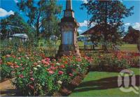"<span class=""caption-caption"">War Memorial, Toogoolawah</span>, c1970-2000. <br />Postcard, collection of <span class=""caption-contributor"">Murray Views Collection</span>."