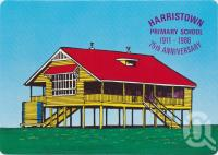 "<span class=""caption-caption"">Harristown Primary School</span>, c1970-2000. <br />Postcard, collection of <span class=""caption-contributor"">Murray Views Collection</span>."