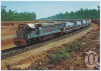 "<span class=""caption-caption"">Ore Train, Weipa</span>, c1970-2000. <br />Postcard, collection of <span class=""caption-contributor"">Murray Views Collection</span>."