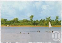 "<span class=""caption-caption"">Lake Patricia, Weipa</span>, c1970-2000. <br />Postcard, collection of <span class=""caption-contributor"">Murray Views Collection</span>."