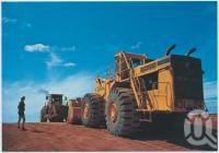 "<span class=""caption-caption"">Michigan Loader, Weipa</span>, c1970-2000. <br />Postcard, collection of <span class=""caption-contributor"">Murray Views Collection</span>."